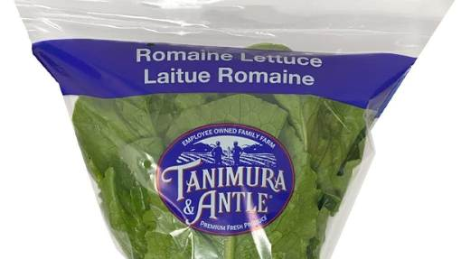 Health Advisory Issued for Tanimura and Antle Romaine Lettuce