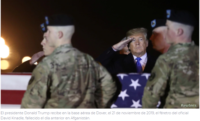 El nuevo jefe del Pentágono defiende la retirada de tropas de Afganistán
