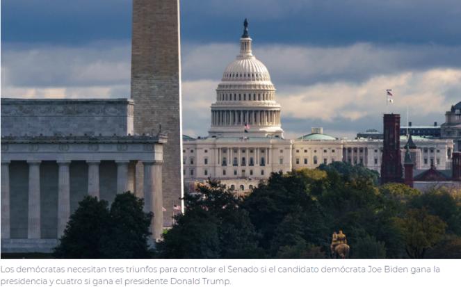 ¿Quién controlará el Senado federal?
