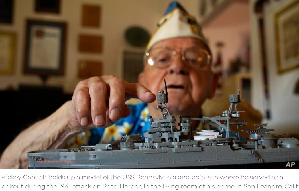 Amid Pandemic, Pearl Harbor Survivors Mark Anniversary at Home
