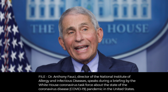 Fauci Suggests Slow Pace of US Coronavirus Vaccinations to Pick Up