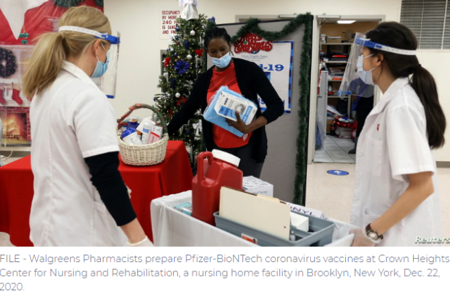 CDC: 14 Million Vaccines Distributed, 4 Million Inoculated