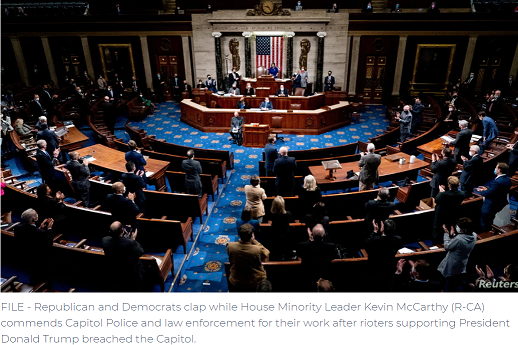 House Begins Debate on Article of Impeachment Against Trump for 'Incitement of Insurrection'