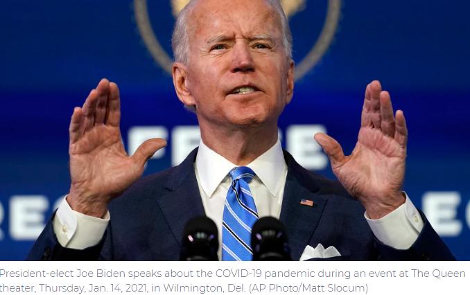Biden Plans Ambitious Agenda for First 100-Days