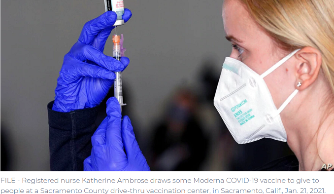 Moderna Says Its Vaccine Is Effective Against COVID-19 Variants