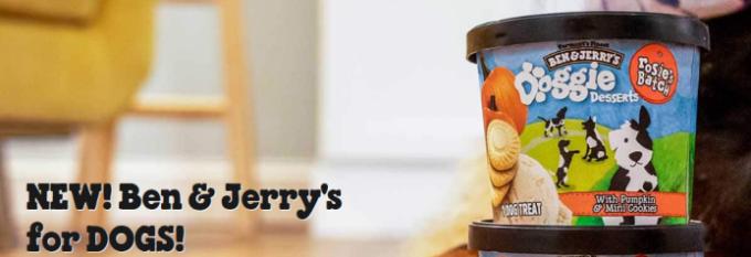 "Ben & Jerry's Frozen Treats for Dogs ""Doggie Desserts"""