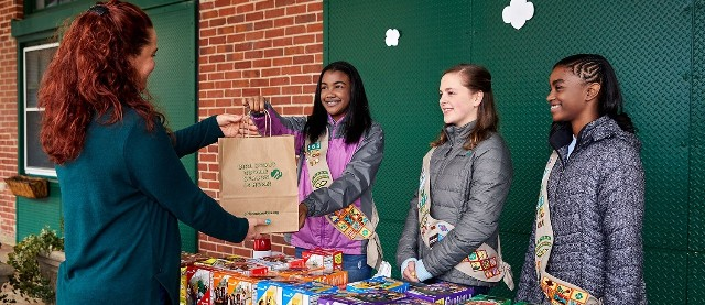 Girl Scout Cookie Season Kicks Off in Southeastern New England, Bringing Joy During Challenging Times