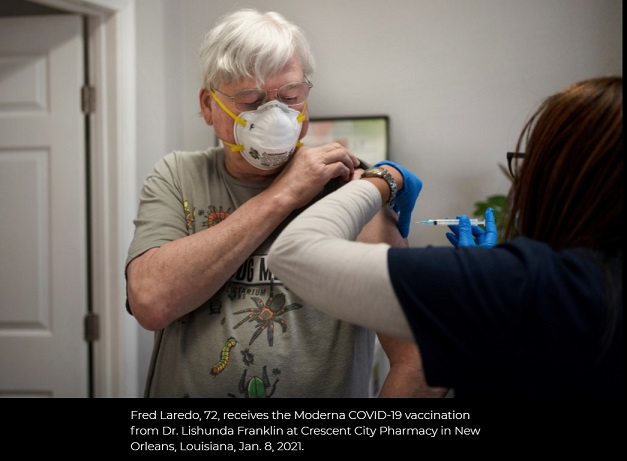 Frustrations Mount Over Vaccine Shortages in New Orleans