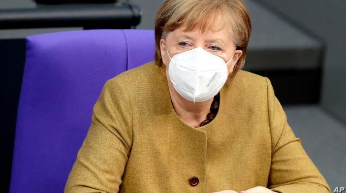 Merkel Defends Extension of Germany COVID-19 Lockdown