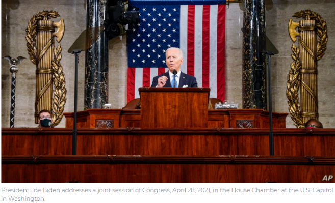Key Takeaways from Biden's First Joint Speech to Congress