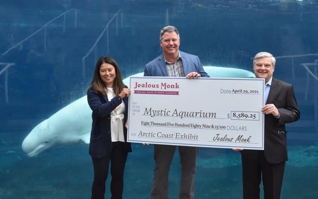 Bill Middleton, Owner of Jealous Monk, Donates Five Percent of Igloo Proceeds to Mystic Aquarium