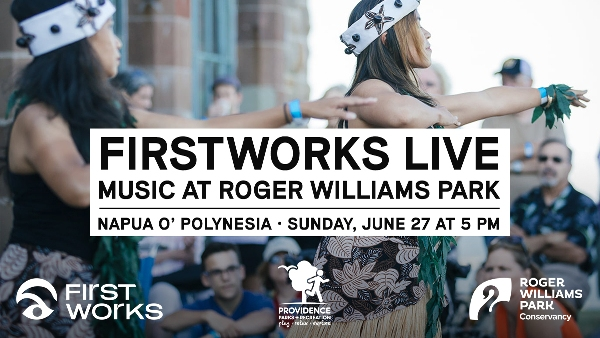 Enjoy FirstWorks Live—Music at Roger Williams Park this Sunday