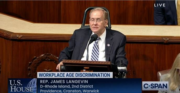 Langevin Votes to Shield Older Workers by Reversing Conservative Court Rulings