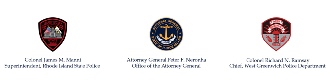 Attorney General, Rhode Island State Police and West Greenwich Police Department Statement on Officer-Involved Shooting Incident