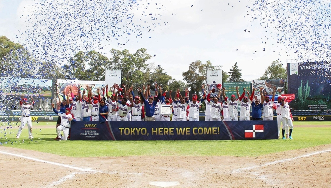 WBSC Baseball Final Qualifier – Dominican Republic qualifies for Tokyo 2020 Olympic Games