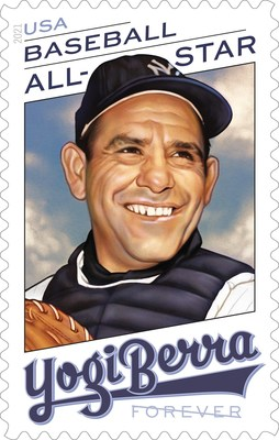 Postal Service Honors Yankees Legend Yogi Berra With Forever Stamp