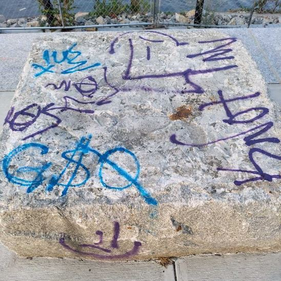 Providence Police looking to ID re: Providence River Pedestrian Bridge Malicious Damage/Graffiti incidents