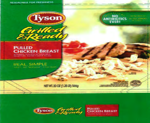 Tyson Foods Recalls Ready-To-Eat Chicken Products