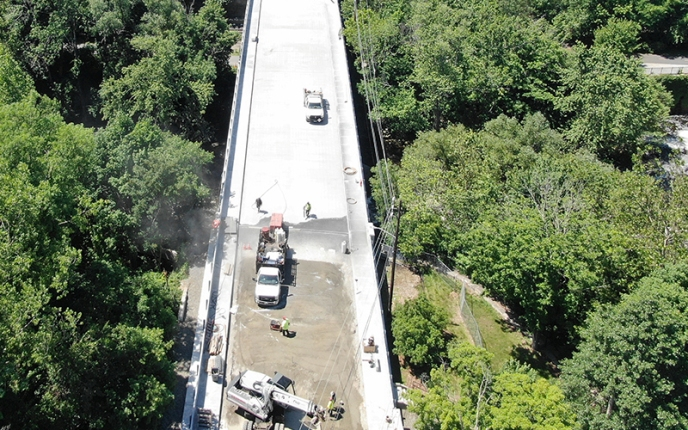 RIDOT Reopens Manville Bridge over the Blackstone River in Lincoln and Cumberland